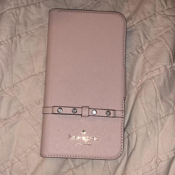 LIKE NEW Kate Spade IPhone X phone case